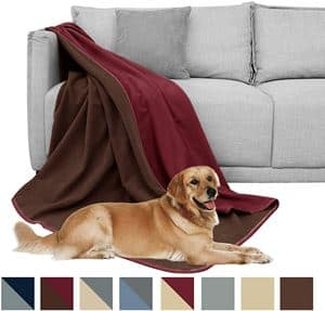 DEARTOWN Waterproof Blanket for Dogs and Cats