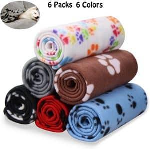 Comsmart Warm Paw Print Blanket
