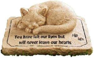 CT DISCOUNT STORE Cat Memorial Stone