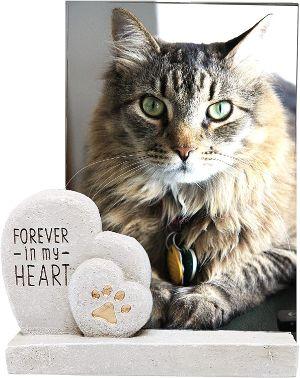 The Neko Cafe Gift Sets Forever in My Heart Memorial Photo Frame