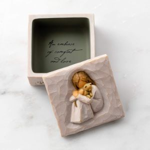 Willow Tree Comfort Sculpted Hand Painted Keepsake Box