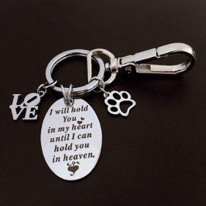 Pet Memorial Keychain