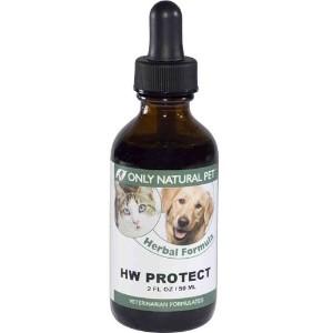 only natural pet HW protect herbal formula