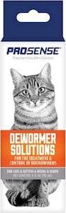 pro-sense roundworm liquid dewormer 4 oz
