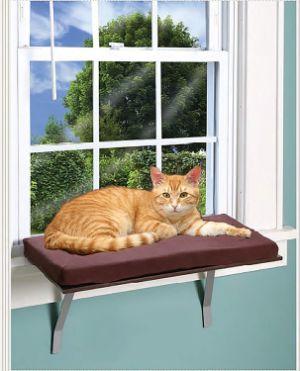 Foam Cushion Deluxe Kitty Window Perch