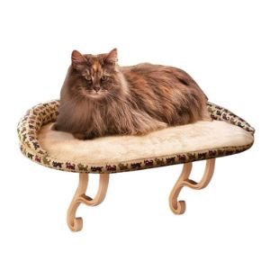 K&H Pet Products Deluxe Kitty Sill Cat Window Hammock Perch