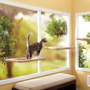 Angela & Alex Window Cat Bed Window Hammock