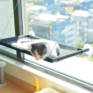 Pakeway Cat Window Perch Hammock