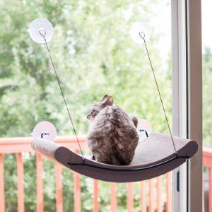 K&H Pet Products EZ Mount Scratcher Kitty Sill Cradle