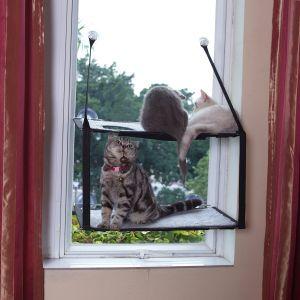 LIFIS Cat Window Perch Cat Window Hammock