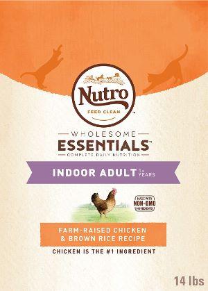 Nutro Wholesome Essentials Indoor Adult Dry Cat Food