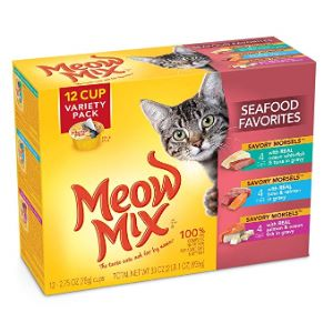 Meow Mix Savory Morsels Wet Cat Food