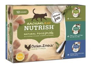 Rachael Ray Nutrish Wet Cat Food Variety Pack