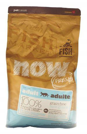 Petcurean Now Fresh Grain Free Fish Adult Recipe Cat Food