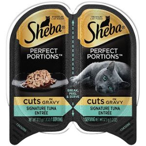 Sheba Perfect Portions Cuts in Gravy Entree Wet Cat Food