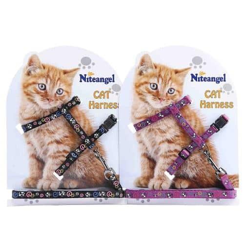 Niteangel Adjustable Cat Harness