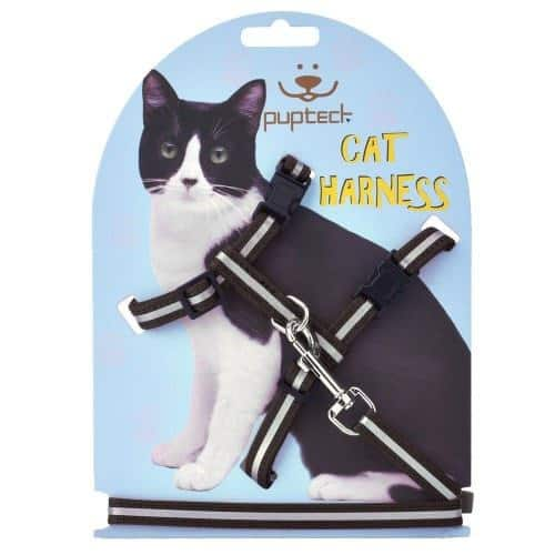 PUPTECK Reflective Adjustable Cat Harness