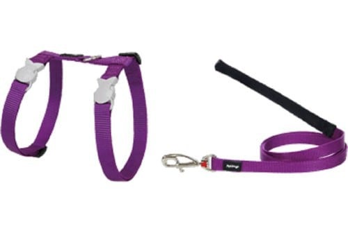 Red Dingo Classic Cat harness and lead combo-min