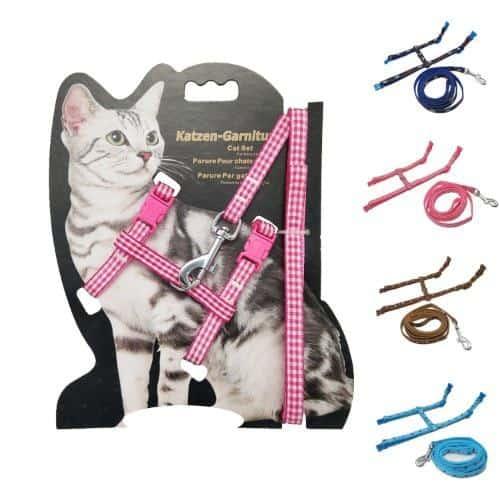 Yizhi Miaow Adjustable Cat harness