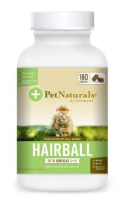 Pet Naturals of Vermont - Hairball, Daily Digestive, Skin and Coat Support for Cats