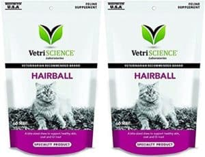 VetriScience Laboratories Hairball Digestive Support for Cats