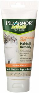 PetArmor Naturals Petroleum Free Hairball Remedy for Cats, 3 oz