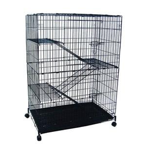 YML 4-Level Small Animal Chichilla Cat Ferret Cage