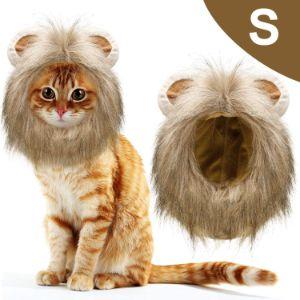 WILLBOND 1 Piece Cat Lion Mane Costume