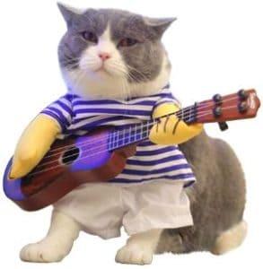 LUCKSTAR Pet Guitar Costume