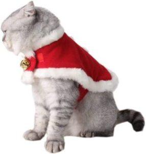 ZTON Pet Christmas Cat Costume