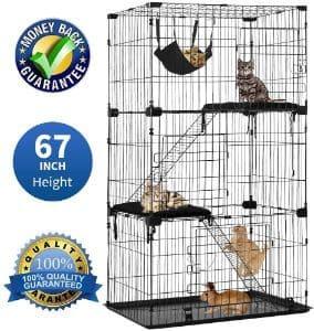 Dkeli Cat Cage