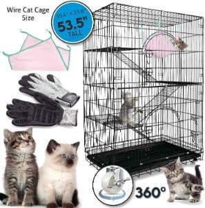 Petsmatig Wire Cat Cage