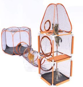 DAPU 3 in 1 Compound Pet Play House