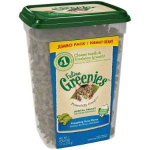Feline Greenies Tempting Tuna Flavor Dental Cat Treats
