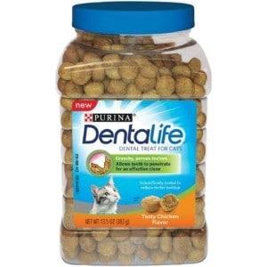 Purina DentaLife Tasty Chicken Flavor Dental Treats for Cats