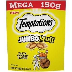 Temptations Jumbo Stuff Cat Treats