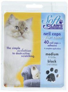 Soft Claws Black Cat Nail Caps