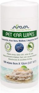 Arava Pet Ear Wipes