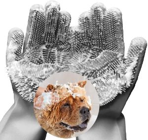 FePecu Pet Grooming Gloves