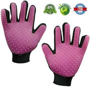 glove i love Pet Grooming Gloves