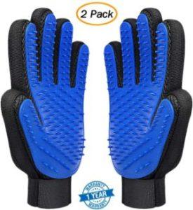 MAZORT Pet Grooming Gloves