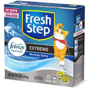 Fresh Step Advanced Extreme Clumping Cat Litter with Odor Control-min