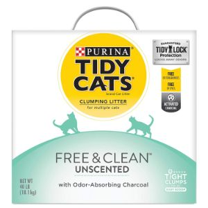 Purina Tidy Cats Free & Clean Clumping Cat Litter-min