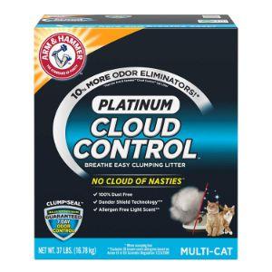 Arm & Hammer Cloud Control Platinum Clumping Cat Litter-min