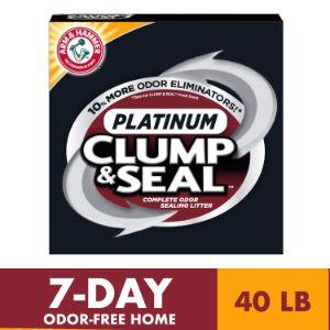 Arm & Hammer Clump & Seal Platinum Cat Litter-min