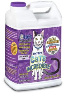 Lucy Pet Cats Incredible Clumping Cat Litter-min