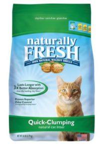 Naturally Fresh Walnut-Based Quick-Clumping Cat Litter-min