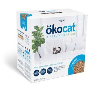 ökocat Natural Wood Clumping Cat Litter-min