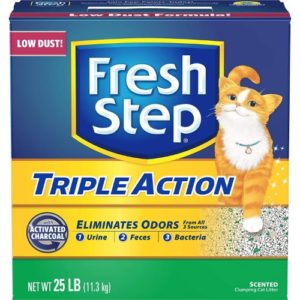 Fresh Step CAT LITTER Triple Action Scooping Litter