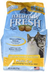 Blue Naturally Fresh Ultra Odor Control Multi-Cat Quick-Clumping Cat Litter